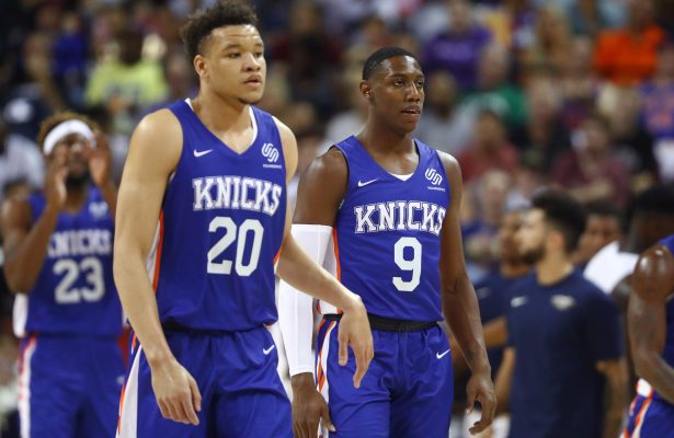R.J. Barrett and Kevin Knox
