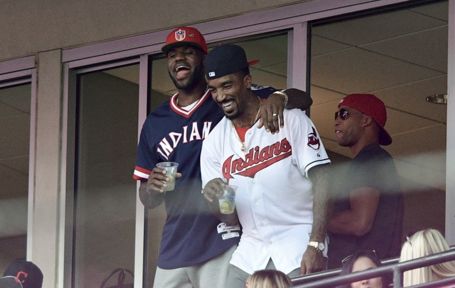 J.R. Smith Cleveland Indians