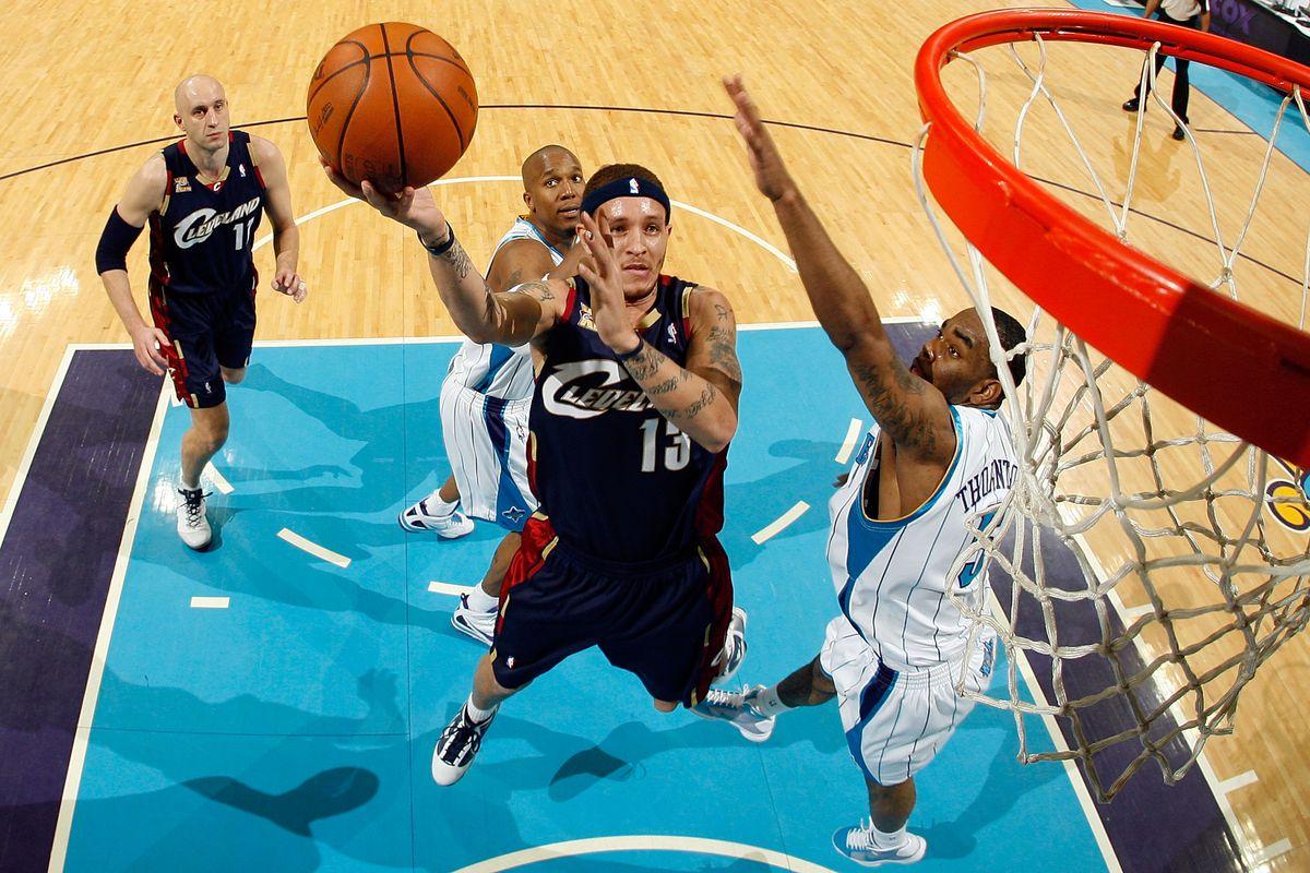 Delonte West Cleveland Cavaliers