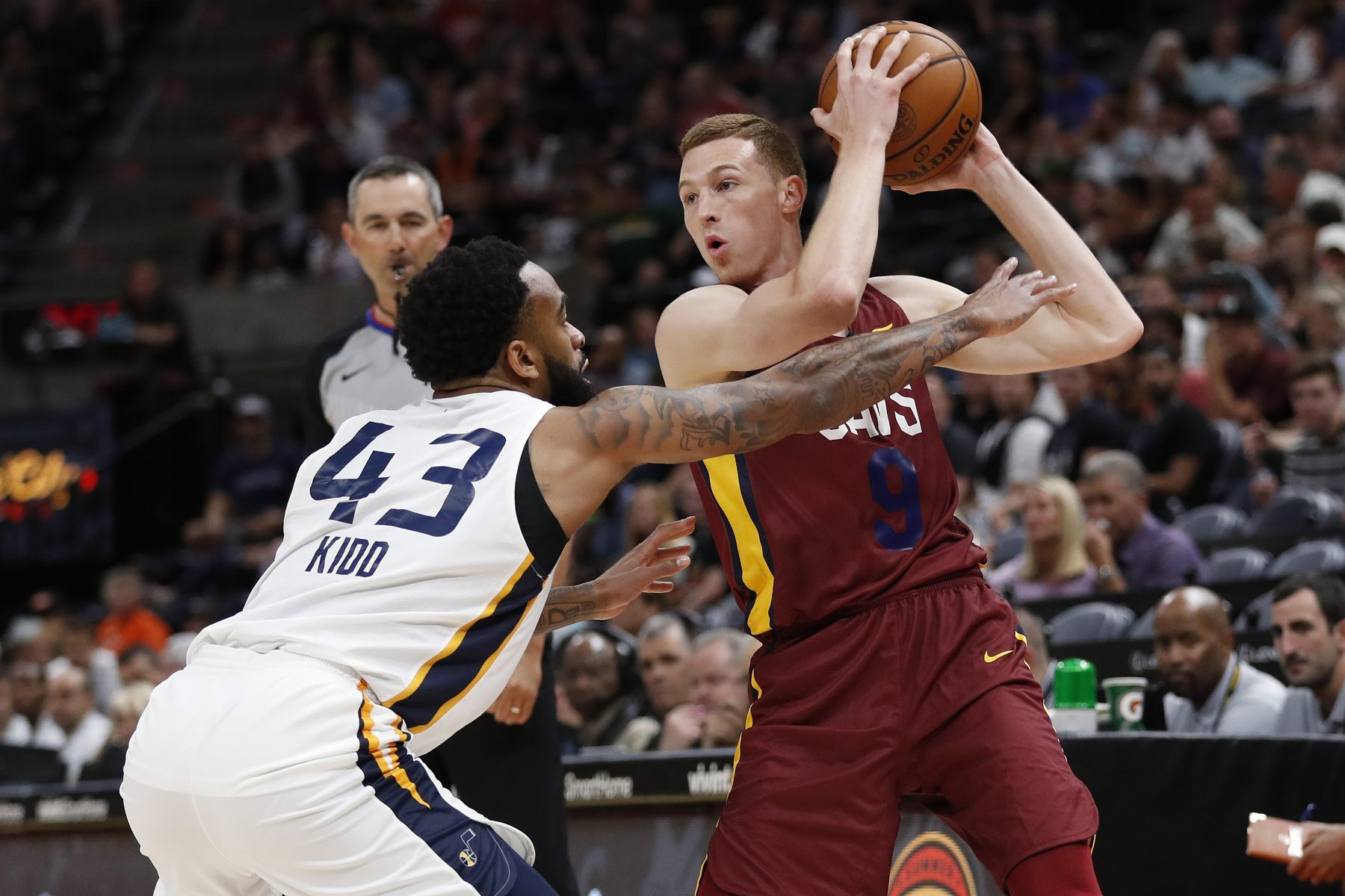 Dylan Windler Cavs Summer League