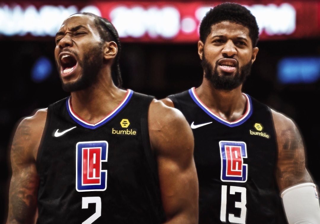 Kawhi Leonard and Paul George L.A. Clippers