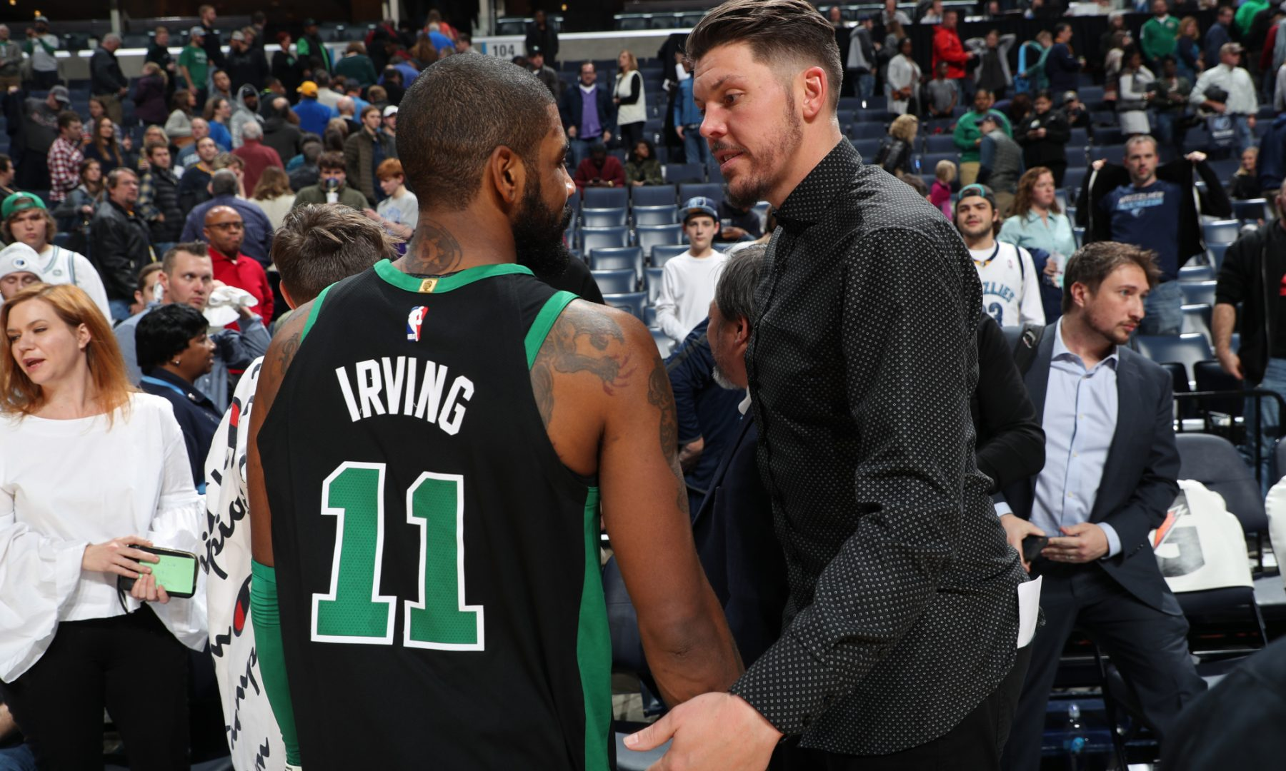 Kyrie Irving and Mike Miller