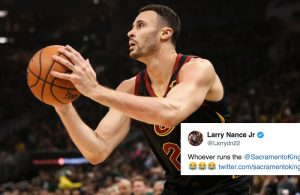 Larry Nance Jr. Sacramento Kings