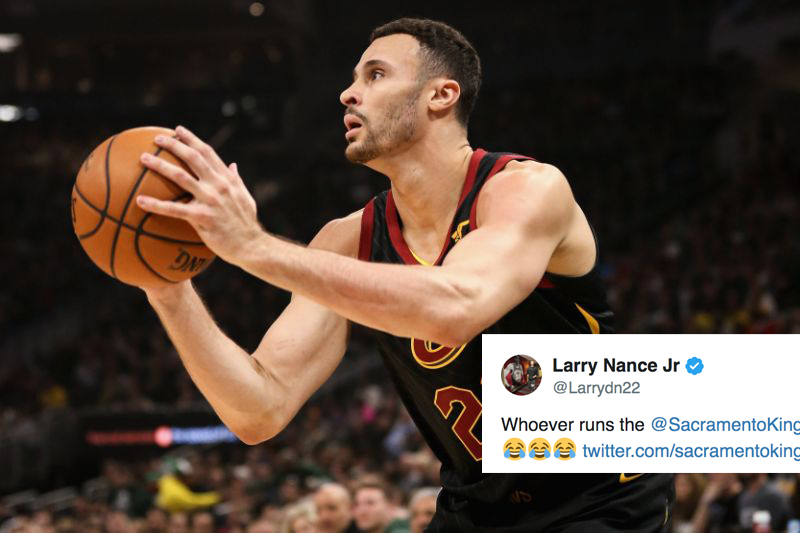 Larry Nance Jr  Sympathizes With Sacramento Kings in