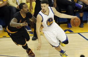 J.R. Smith and Klay Thompson