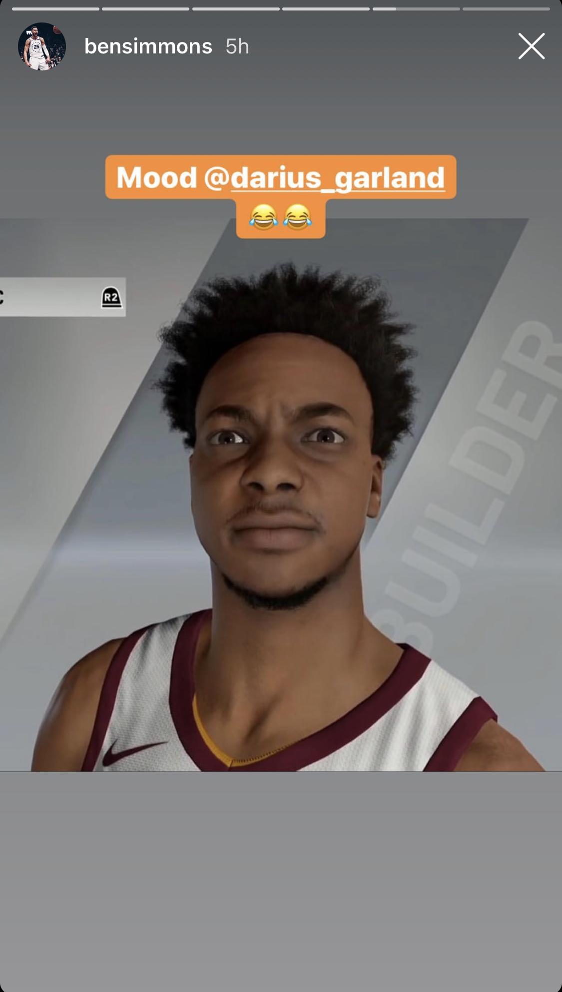 Darius Garland NBA 2K20