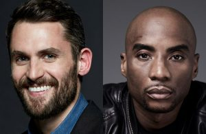 Kevin Love and Charlamagne tha God