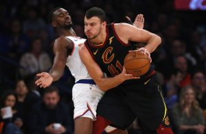 Ante Zizic and Noah Vonleh