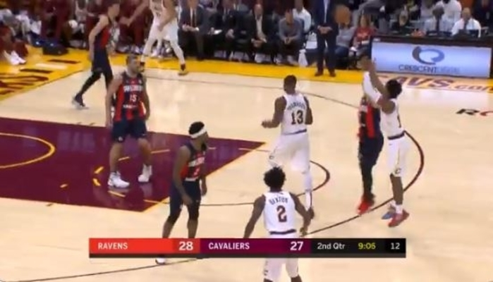 Darius Garland 3-Pointer Cavs