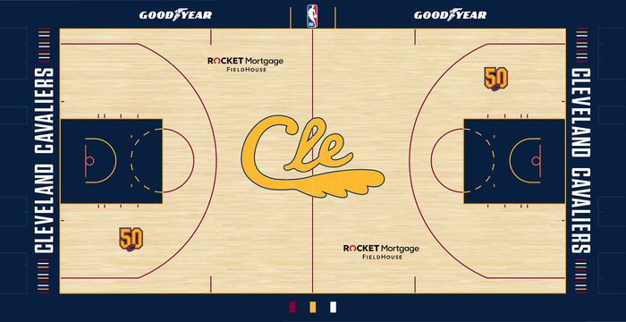 Cavs City Edition Navy Blue Court
