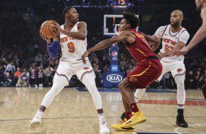 Knicks and Cavs