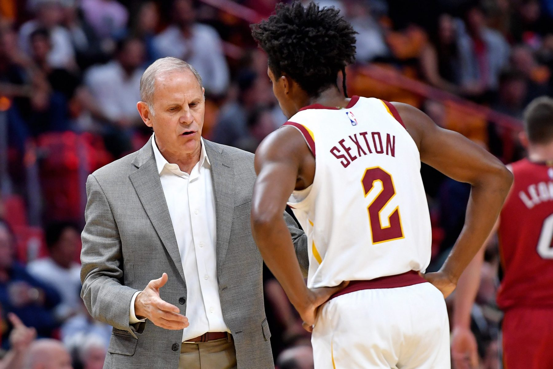 John Beilein and Collin Sexton