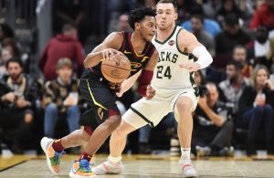 Darius Garland and Pat Connaughton