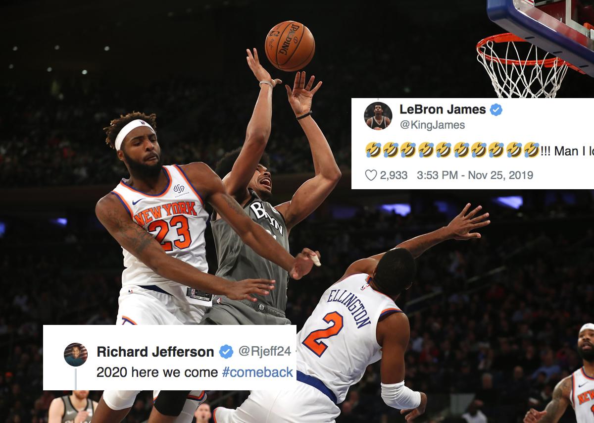 Knicks and Nets