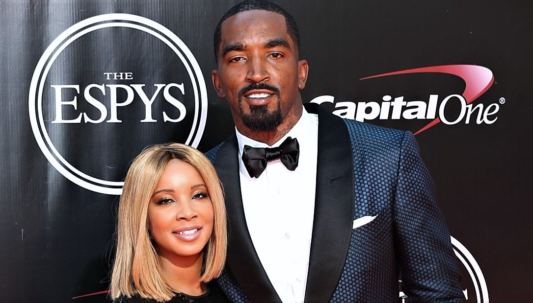 J.R. Smith and Jewel Harris