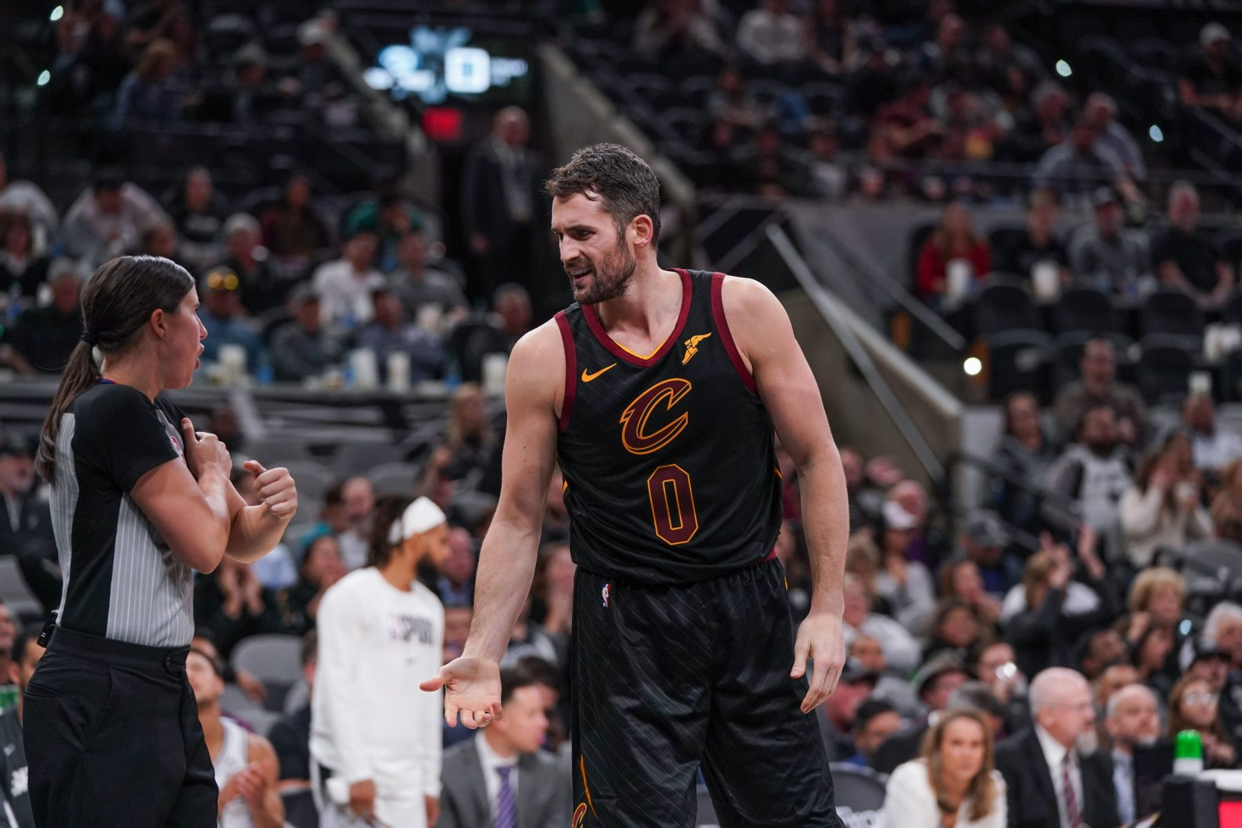Kevin Love says he 'loves' Cavaliers teammates after on-court outburst