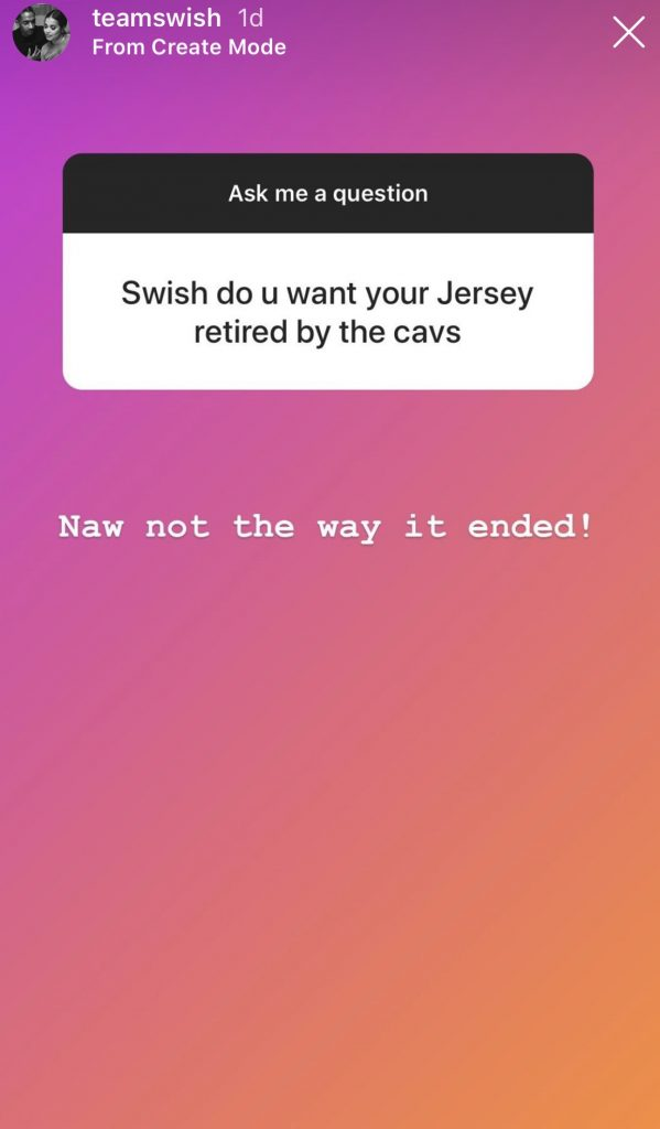 J.R. Smith Cavs