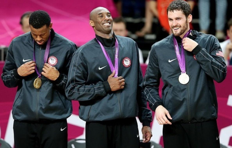 Kobe Bryant and Kevin Love