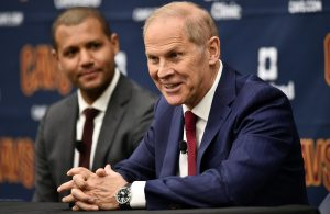 Koby Altman and John Beilein