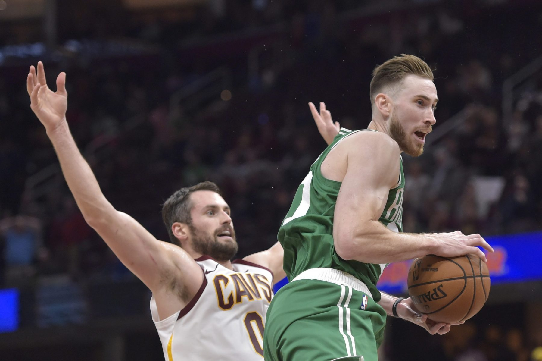 Kevin Love and Gordon Hayward