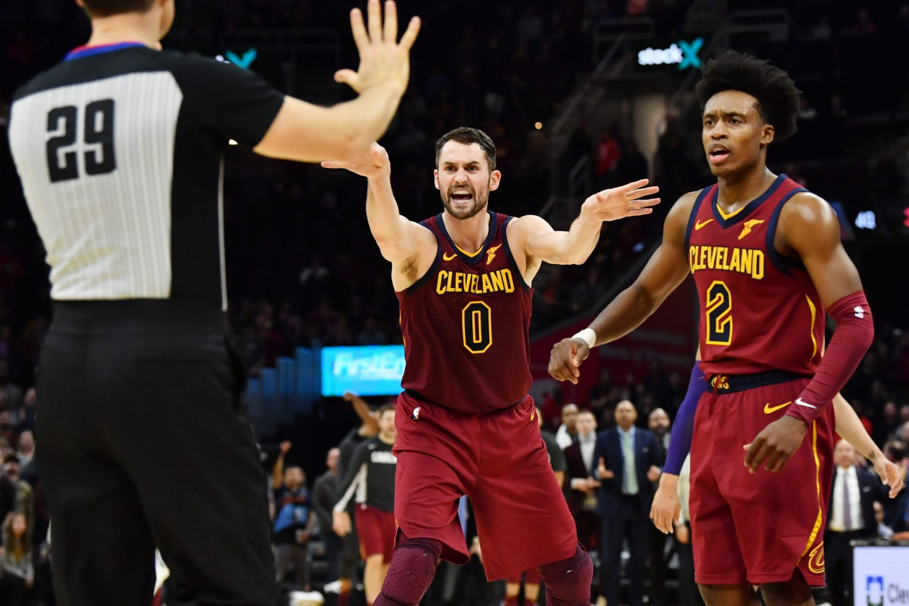 Amid trade rumors, Kevin Love talks about losing his temper