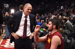 John Beilein and Kevin Love