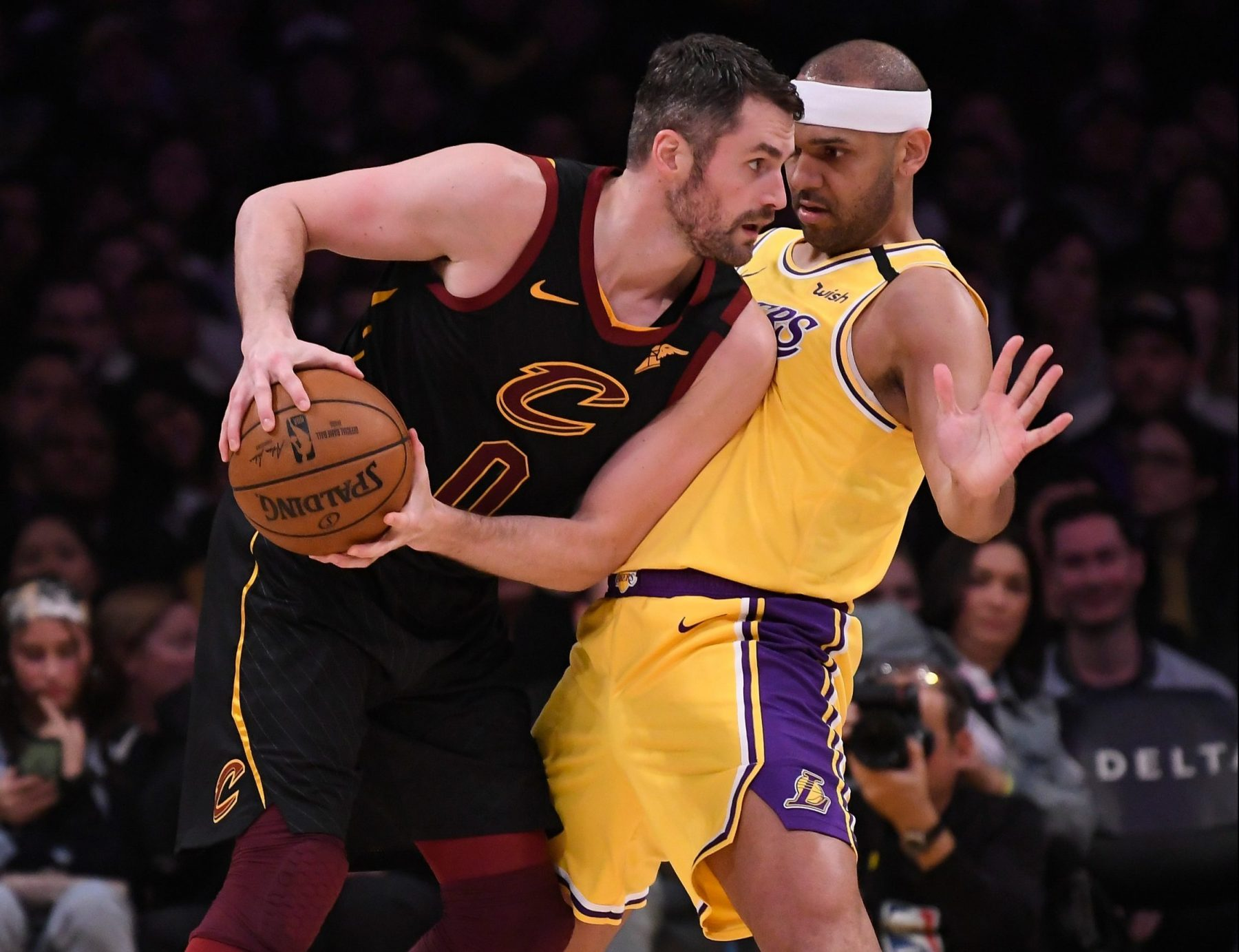 Kevin Love and Jared Dudley