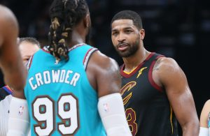 Tristan Thompson and Jae Crowder