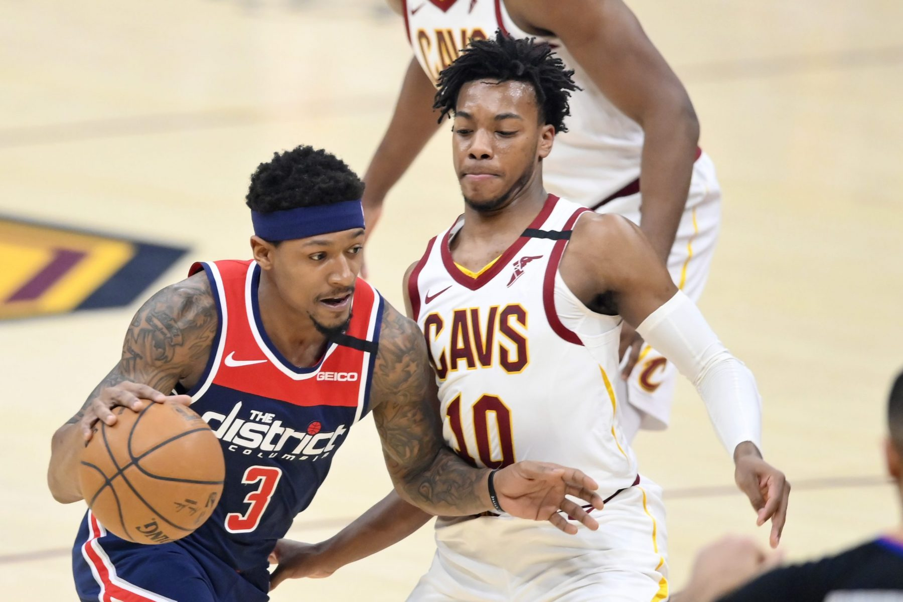 Bradley Beal and Darius Garland