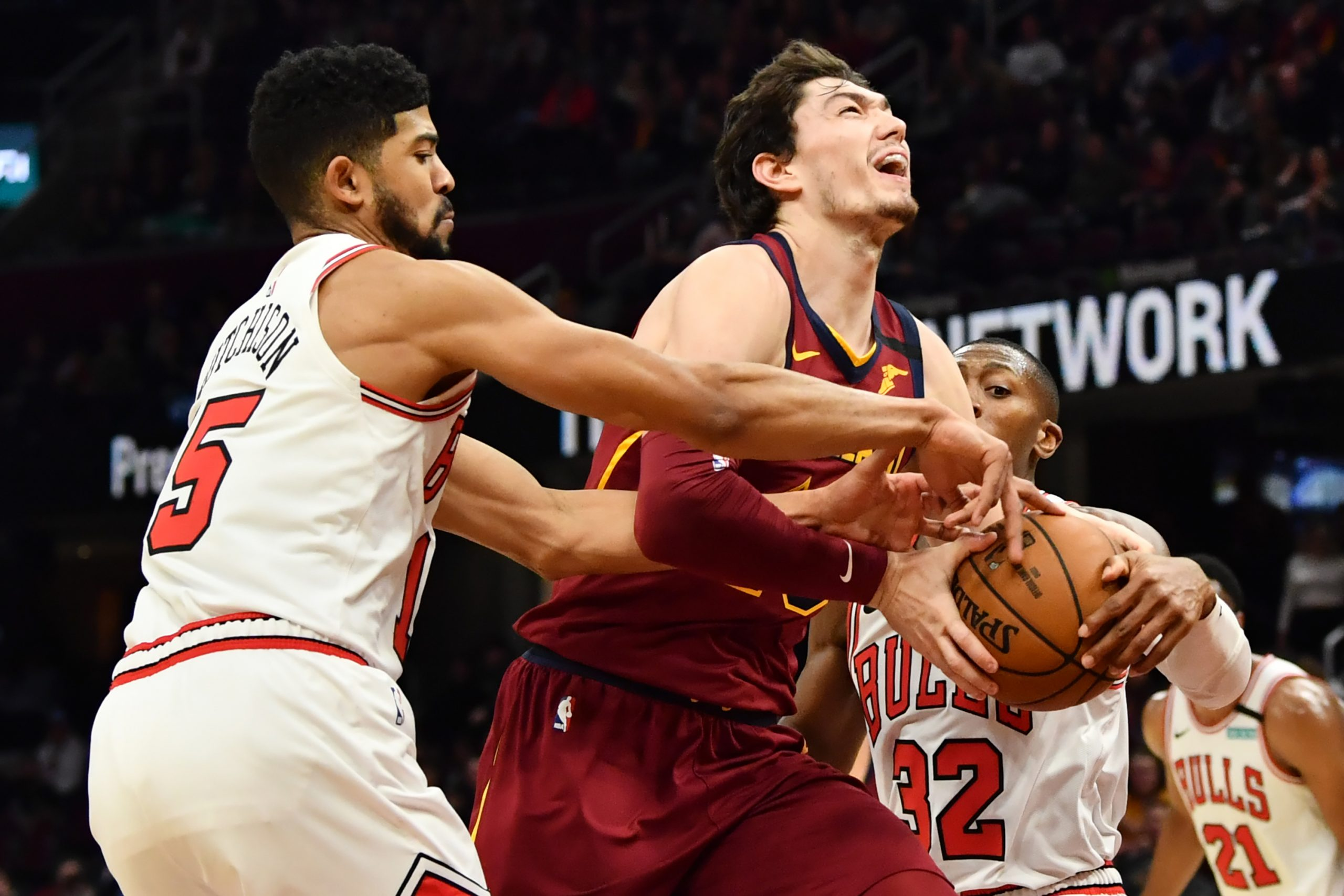 Cedi Osman Cavs and Bulls