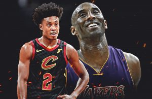 Collin Sexton and Kobe Bryant