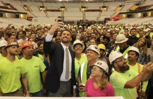 Kevin Love Cavs Workers