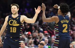 Matthew Dellavedova and Collin Sexton