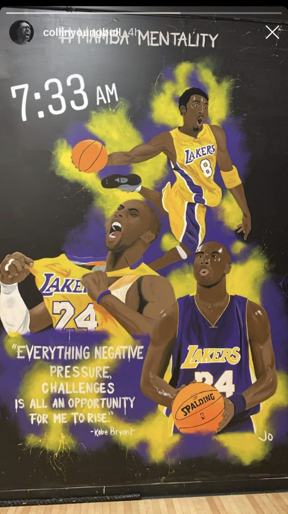 Collin Sexton and Kobe Bryant