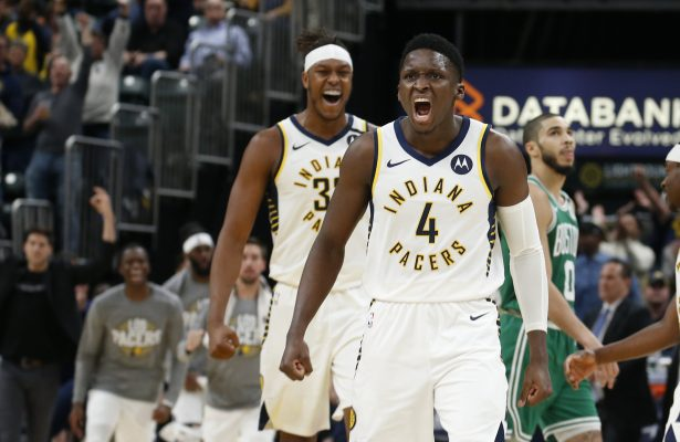 Victor Oladipo and Myles Turner