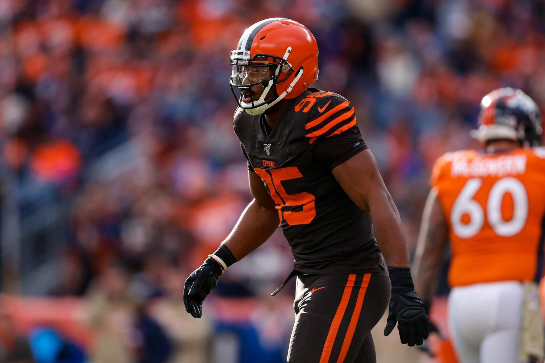 Myles Garrett Cleveland Browns