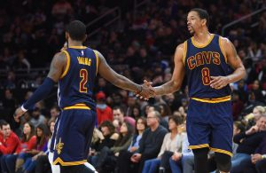 Kyrie Irving and Channing Frye