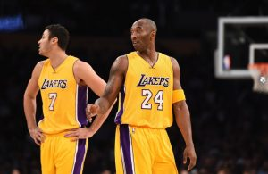Larry Nance Jr. and Kobe Bryant