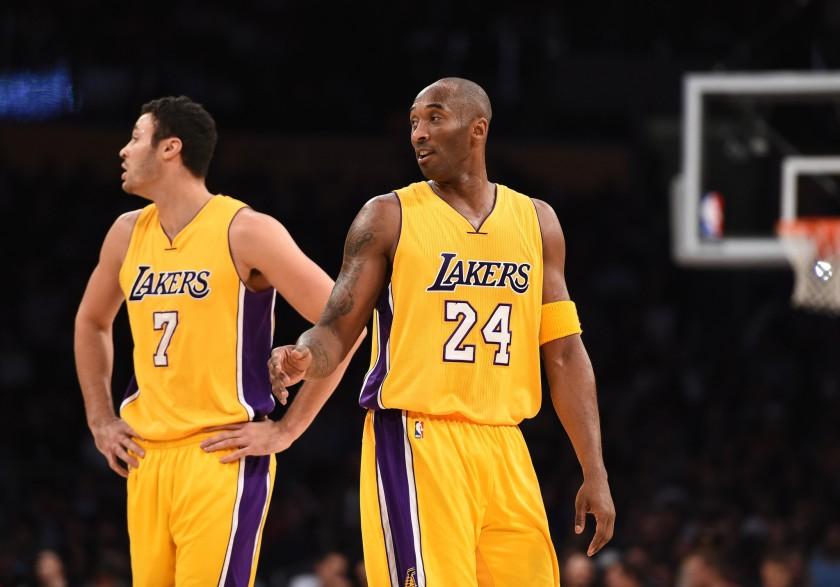 Larry Nance Jr. and Kobe Bryant