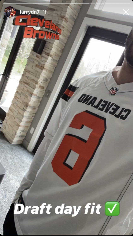Larry Nance Jr. Cleveland Browns
