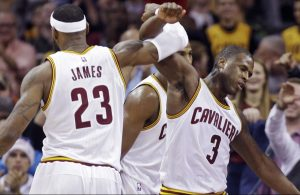 LeBron James and Dion Waiters