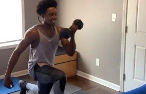 Collin Sexton Home Workout
