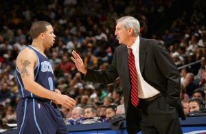 Deron Williams and Jerry Sloan