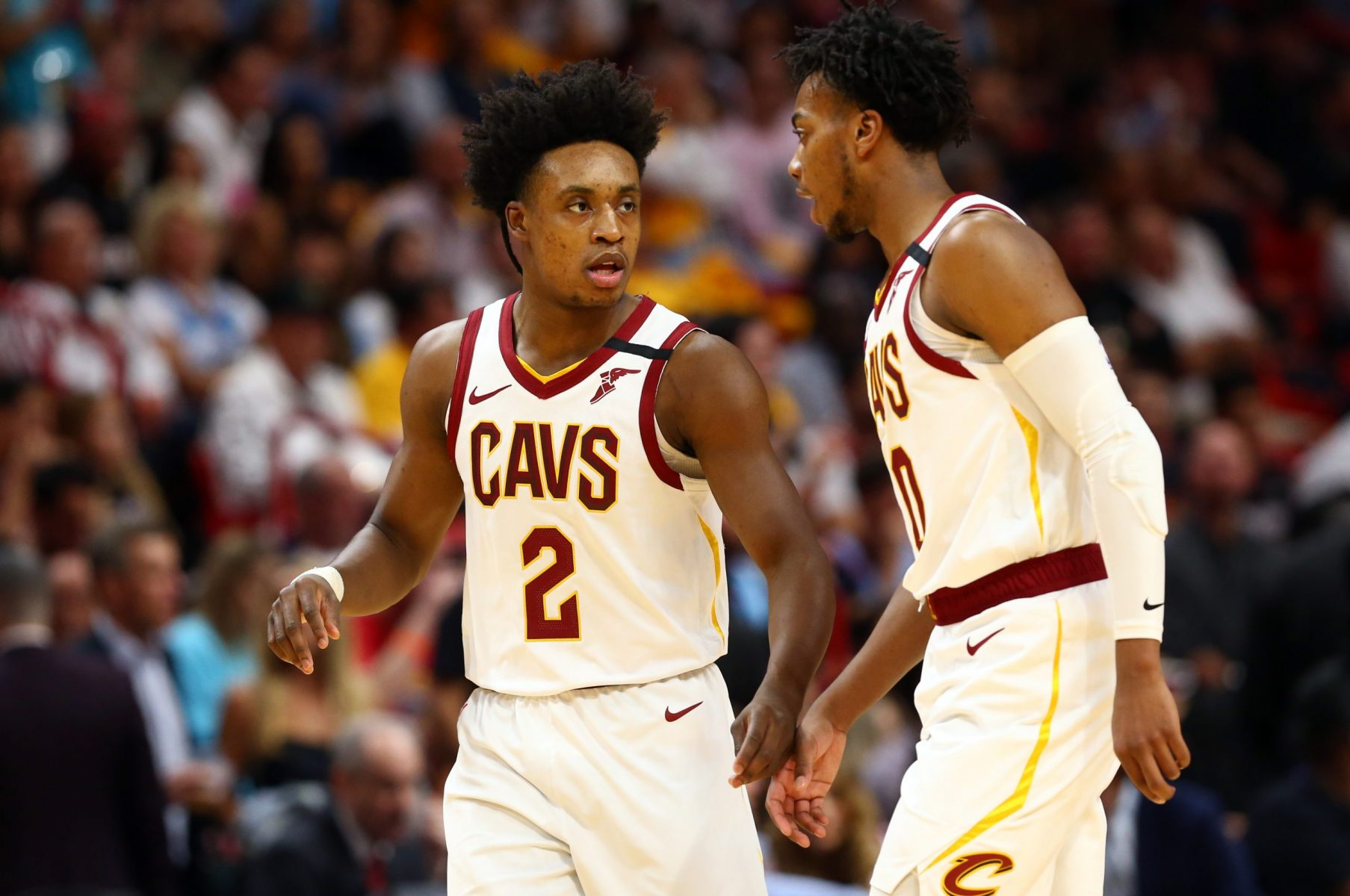 Collin Sexton and Darius Garland
