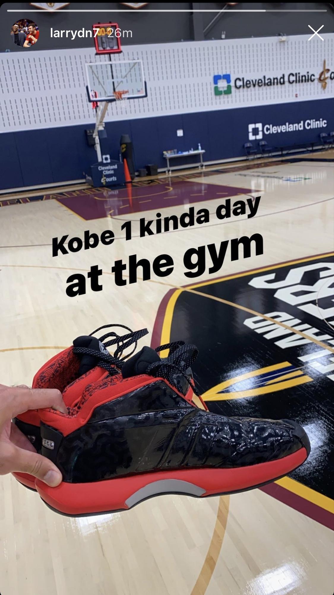 Larry Nance Jr. Kobe Bryant