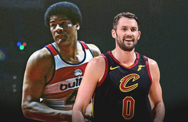 Kevin Love and Wes Unseld