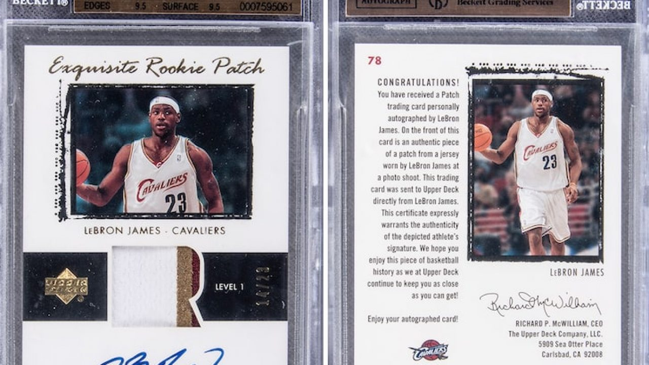 Ultra Rare Lebron James Rookie Card Expected To Sell For More Than 1 Million Cavaliers Nation