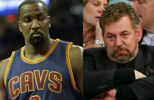 Kendrick Perkins and James Dolan