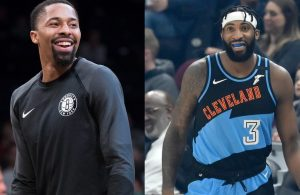Spencer Dinwiddie and Andre Drummond