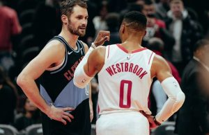 Kevin Love and Russell Westbrook
